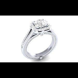 Jewelry - Beautiful clear CZ ring